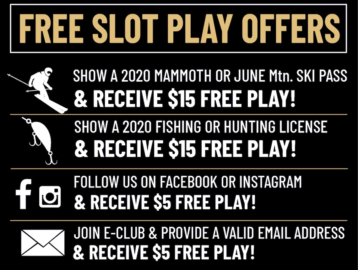 free slot play offers